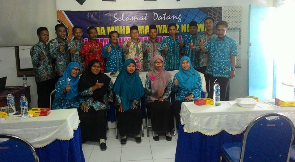 Kunjungan SMA Muhammadiyah 2 Ngawi ke SMA Muhammadiyah 1 Babat