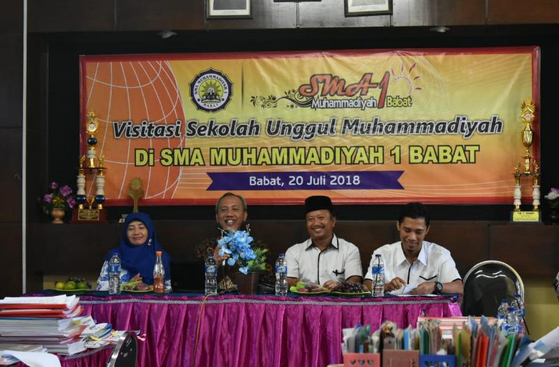 Visitasi Muhammadiyah Future School