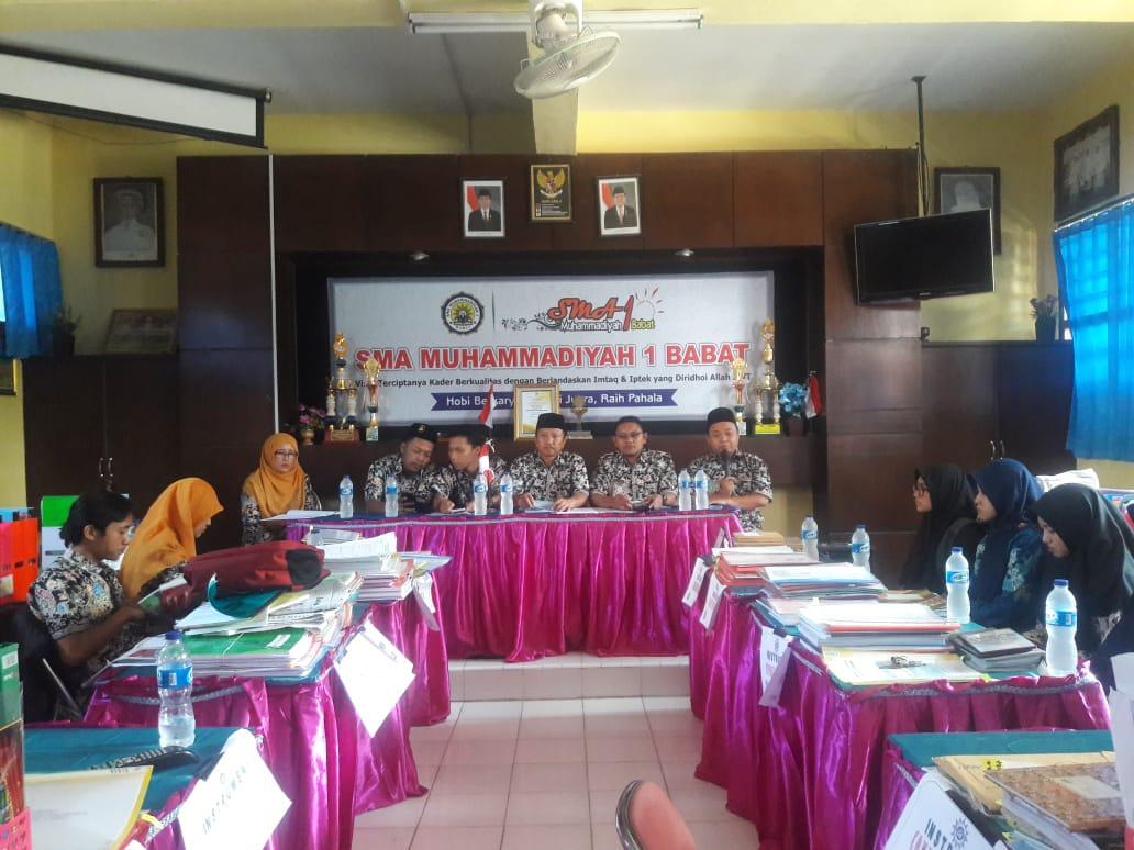 Rapat Dinas Awal Tahun Ajaran 2018/2019