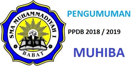 PENGUMUMAN PPDB SMAM 1 BABAT 2018/2019