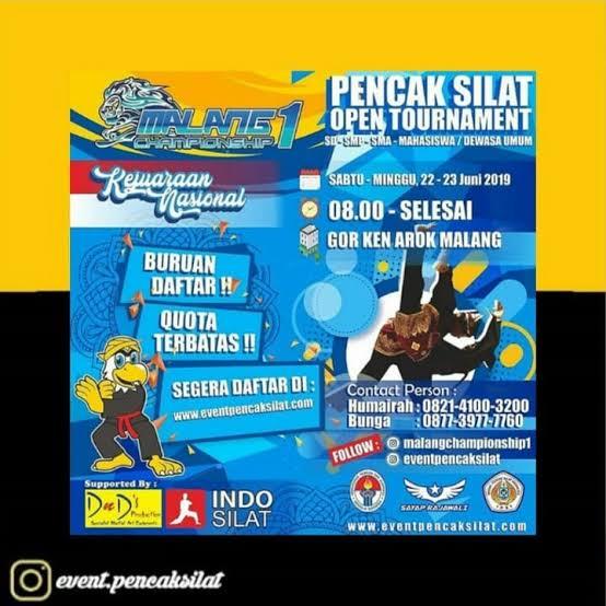 Siswa Siswa SMA MUHIBA Raih Prestasi dalam Kejuaraan Nasional Pencak Silat, Malang Championship 1